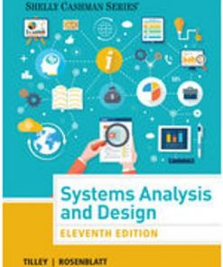 Test Bank for Systems Analysis and Design 11th Edition Scott Tilley