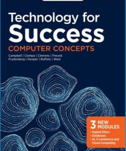 Test Bank for Technology for Success: Computer Concepts 1st Edition Jennifer T. Campbell