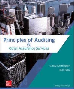 Solution Manual for Principles of Auditing & Other Assurance Services 21st Edition Ray Whittington