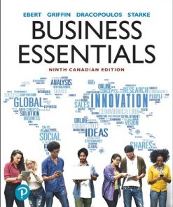 Test Bank for Business Essentials 9th Canadian Edition Ebert