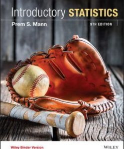 Test Bank for Introductory Statistics 9th Edition Prem S. Mann