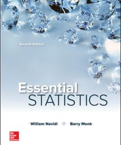 Solution Manual for Essential Statistics 2nd Edition Navidi