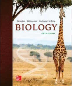 Test Bank for Biology 5th Edition Brooker