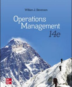 Test Bank for Operations Management 14th Edition William J Stevenson