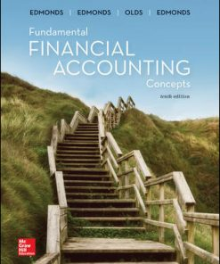 Solution Manual for Fundamental Financial Accounting Concepts 10th Edition Edmonds