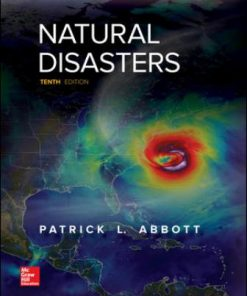 Test Bank for Natural Disasters 10th Edition Abbott