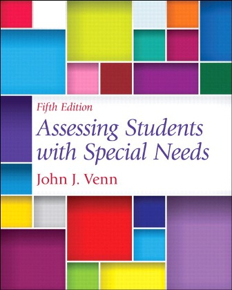 Test Bank for Assessing Students with Special Needs 5th edition John J. Venn