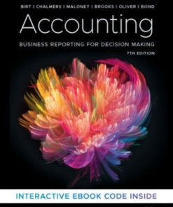 Test Bank for Accounting: Business Reporting for Decision Making 7th Edition Jacqueline Birt