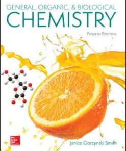 Test Bank for General Organic and Biological Chemistry 4th Edition Janice Smith
