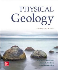 Test Bank for Physical Geology 16th Edition Plummer