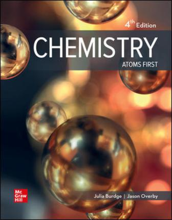 Solution Manual for Chemistry: Atoms First 4th Edition Julia Burdge