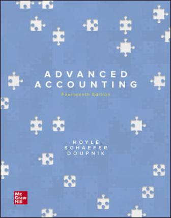 Solution Manual for Advanced Accounting 14th Edition Joe Ben Hoyle