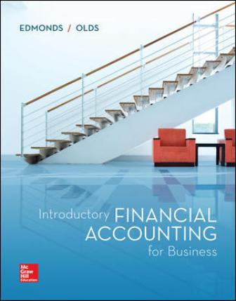 Test Bank for Introductory Financial Accounting for Business 1st Edition Edmonds
