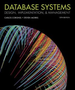 Solution Manual for Database Systems: Design, Implementation, and Management 13th Edition Coronel