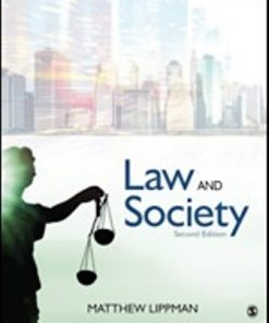 Test Bank for Law and Society 2nd Edition Lippman