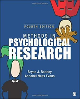 Test Bank for Methods in Psychological Research 4th Edition Bryan J. Rooney