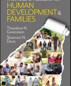 Test Bank for Methods of Research on Human Development and Families Theodore N. Greenstein