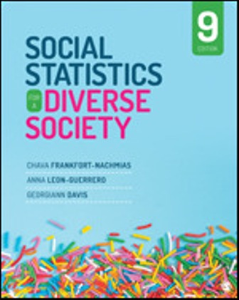 Test Bank for Social Statistics for a Diverse Society 9th Edition Chava Frankfort-Nachmias