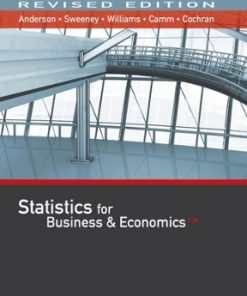 Solution Manual for Statistics for Business & Economics 13th Edition David R. Anderson