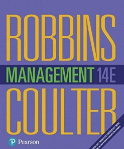 Test Bank for Management 14th Edition Stephen P. Robbins