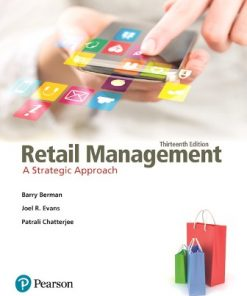 Test Bank for Retail Management: A Strategic Approach 13th Edition Berman