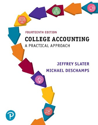Solution Manual for College Accounting 14th Edition Slater