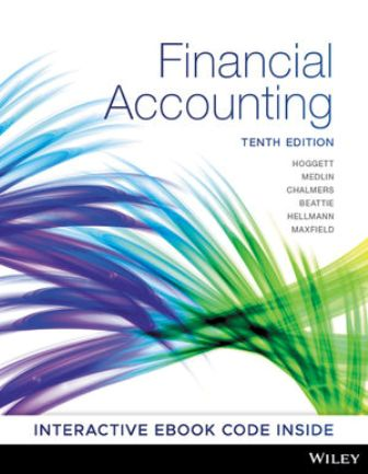 Solution Manual for Financial Accounting 10th Edition Hoggett