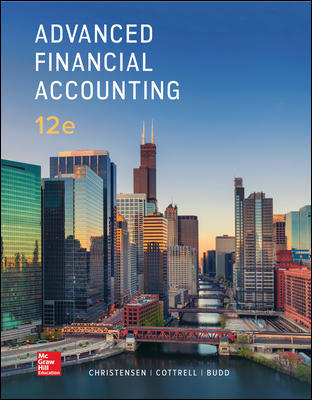 Solution Manual for Advanced Financial Accounting 12th Edition Christensen