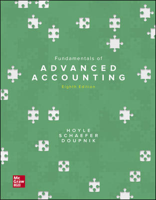 Solution Manual for Advanced Accounting 8th Edition Hoyle