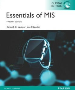 Test Bank for Essentials of MIS Global Edition 12th Edition Laudon