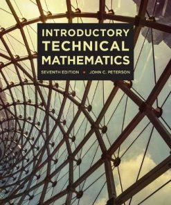 Solution Manual for Introductory Technical Mathematics 7th Edition Peterson