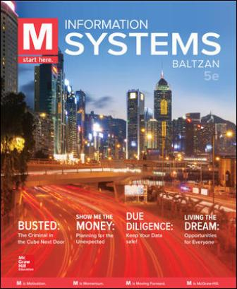 Solution Manual for M: Information Systems 5th Edition Baltzan