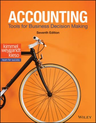 Test Bank for Accounting: Tools for Business Decision Making 7th Edition Kimmel