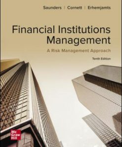 Test Bank for Financial Institutions Management: A Risk Management Approach 10th Edition Saunders