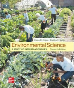 Solution Manual for Environmental Science 16th Edition Enger