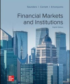 Solution Manual for Financial Markets and Institutions 8th Edition Saunders