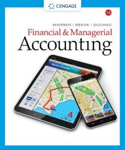 Test Bank for Financial and Managerial Accounting 14th Edition Warren