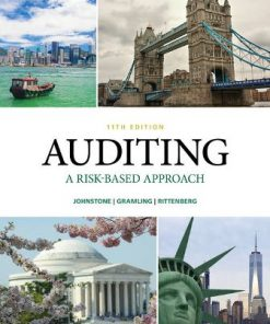 Test Bank for Auditing: A Risk Based-Approach 11th Edition Johnstone-Zehms