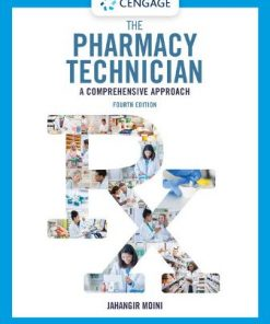 Test Bank for The Pharmacy Technician 4th Edition Moini