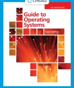 Test Bank for Guide to Operating Systems 6th Edition Tomsho