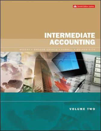 Test Bank for Intermediate Accounting Volume 2 Updated Edition 7th Edition Beechy