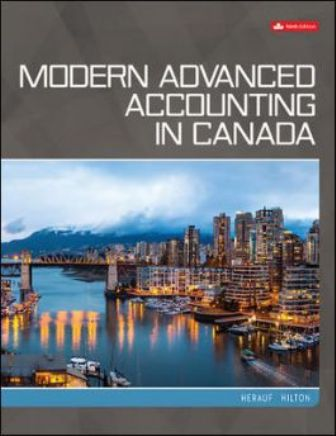 Test Bank for Modern Advanced Accounting in Canada 9th Edition Herauf