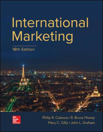 Test Bank for International Marketing 18th Edition Cateora