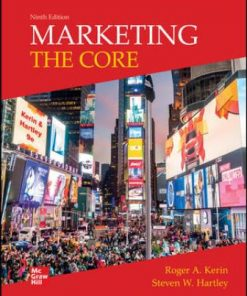 Solution Manual for Marketing: The Core 9th Edition Kerin