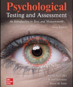 Solution Manual for Psychological Testing and Assessment 10th Edition Cohen