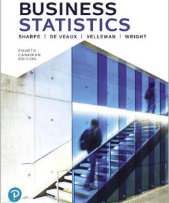 Solution Manual for Business Statistics 4th Canadian Edition Sharpe
