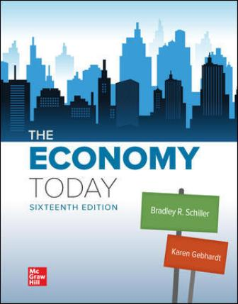 Test Bank for The Economy Today 16th Edition Schiller
