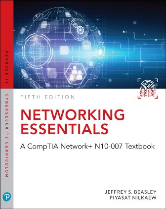 Test Bank for Networking Essentials: A CompTIA Network+ N10-007 Textbook 5th Edition Beasley