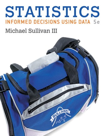 Test Bank for Statistics: Informed Decisions Using Data 5th Edition Sullivan