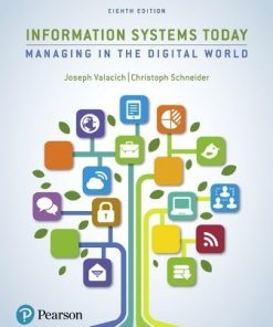 Test Bank for Information Systems Today 8th Edition Valacich